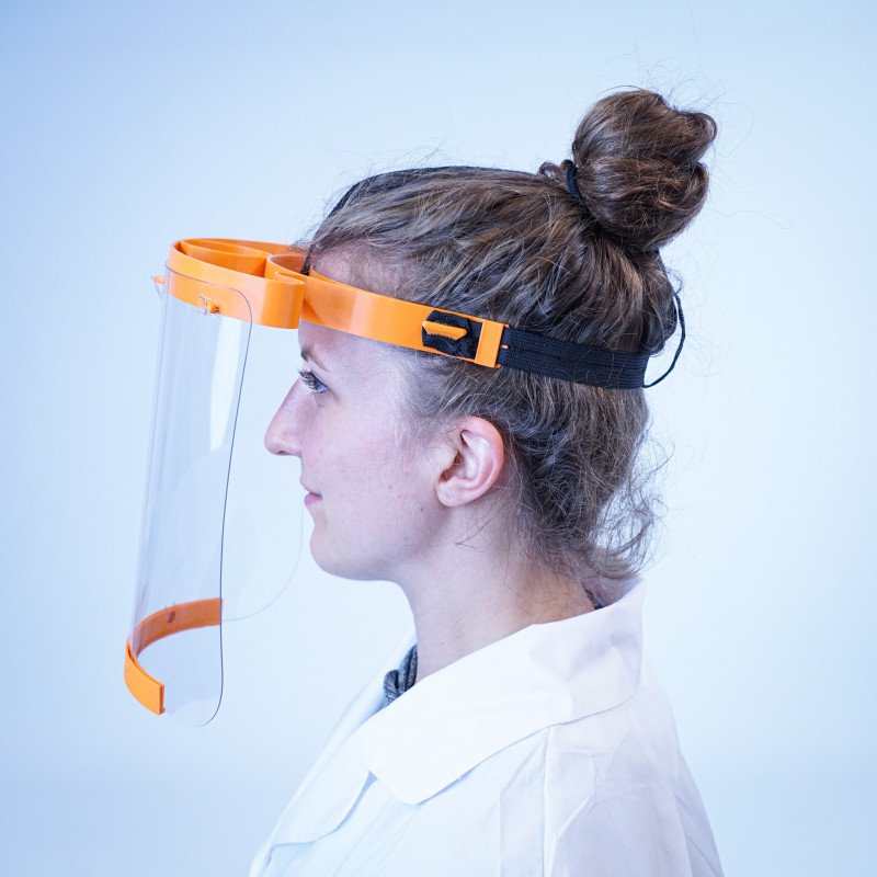 Kit for Corona Face Shield Mask - by 3dk.berlin